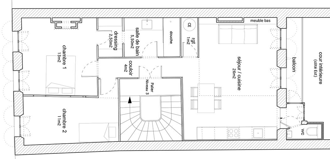 plan appartement marseille