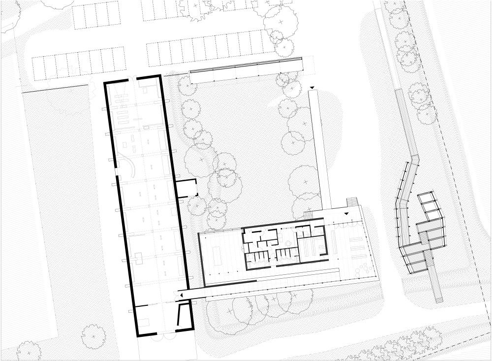 Plo - Plò architectes marseille et urbanistes associés - Musée de la Camargue - Plan général